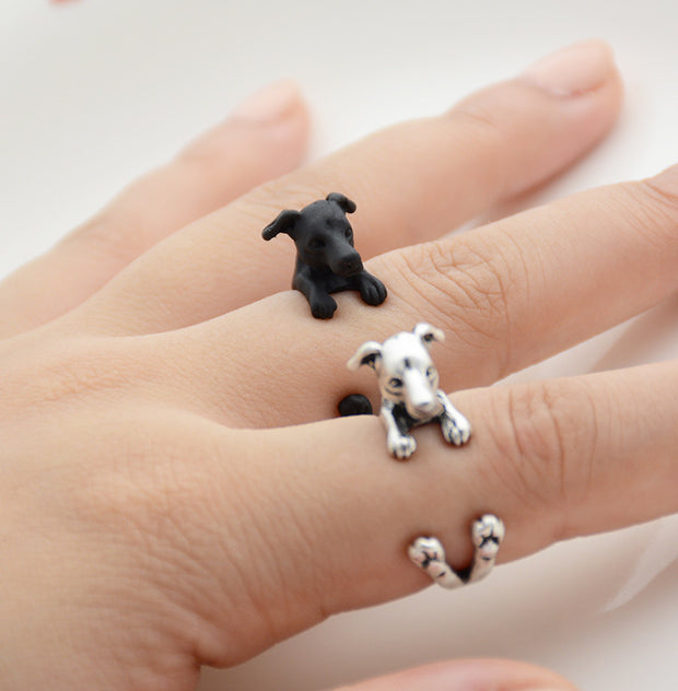 Greyhound Wrap Ring