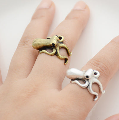 Octopus Wrap Ring