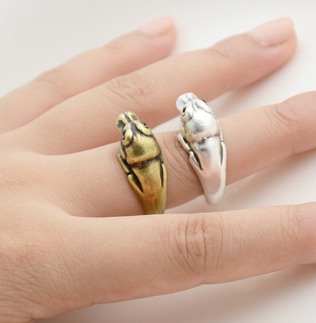 Dinosaur Wrap Ring