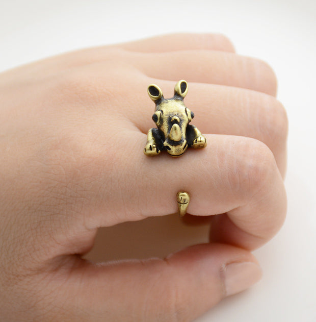 Rhino Wrap Ring