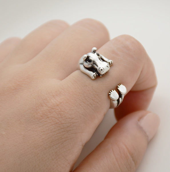 Hippo Wrap Ring