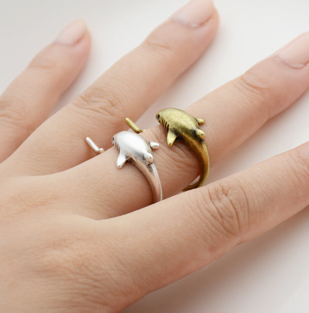 Shark Wrap Ring