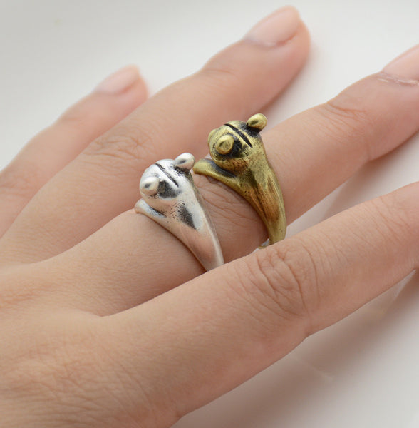 Bear Wrap Ring