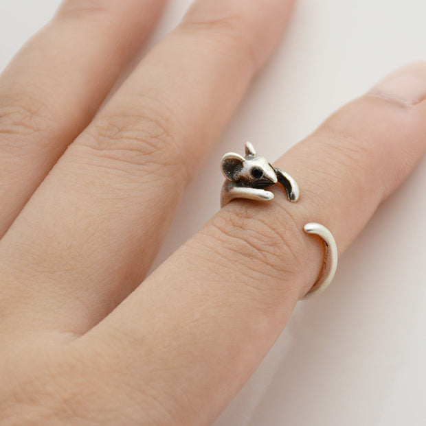 Mouse Wrap Ring
