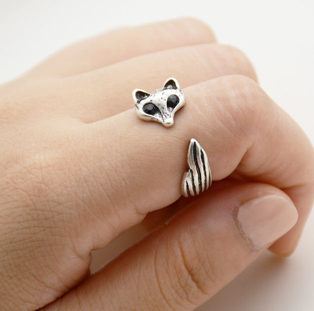 Fox Wrap Ring