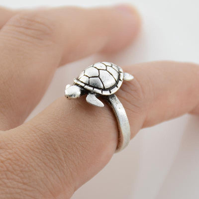 Turtle Wrap Ring