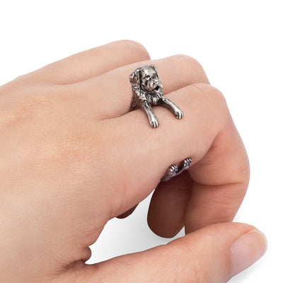 Bernese Mountain Dog Wrap Ring