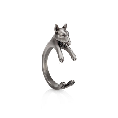 Bull Terrier Wrap Ring