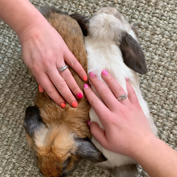 Bunny Wrap Ring