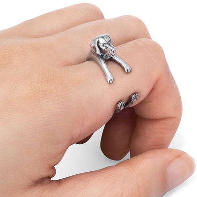 German Shorthaired Pointer Wrap Ring