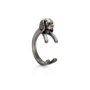 Cavalier King Charles Wrap Ring