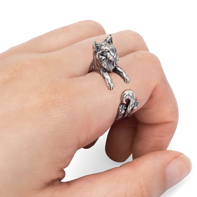 Maine Coon Wrap Ring
