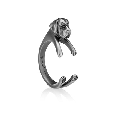 English Mastiff Wrap Ring