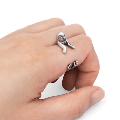 Penguin Wrap Ring
