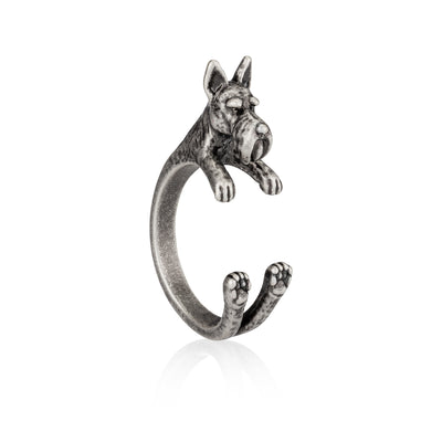 Scottish Terrier Wrap Ring