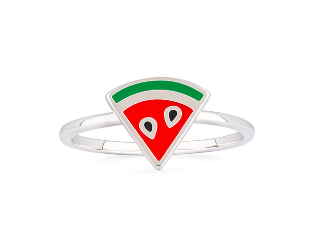 Enamel Watermelon Ring