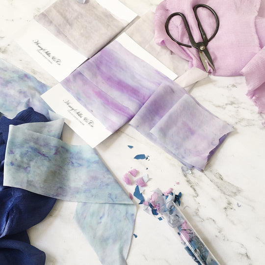 Honey Silks Style | Wedding Inspiration | Watercolor Crush