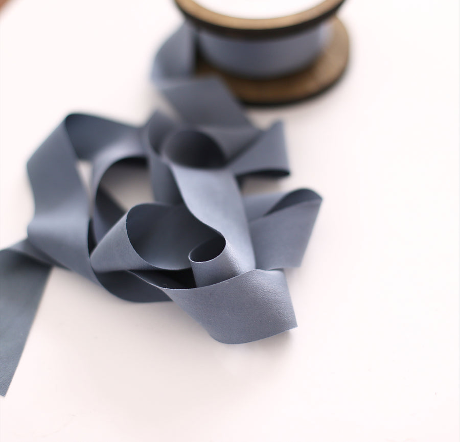 Ten yard ribbon bundle - Smoke