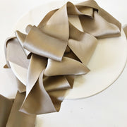 Wheat - Luxury Silk Ribbon By the Yard