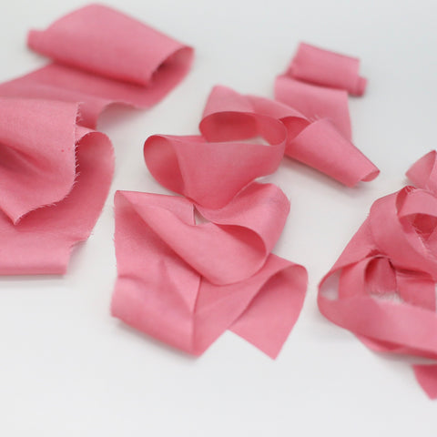 Tea Rose - Habotai Luxury Ribbon