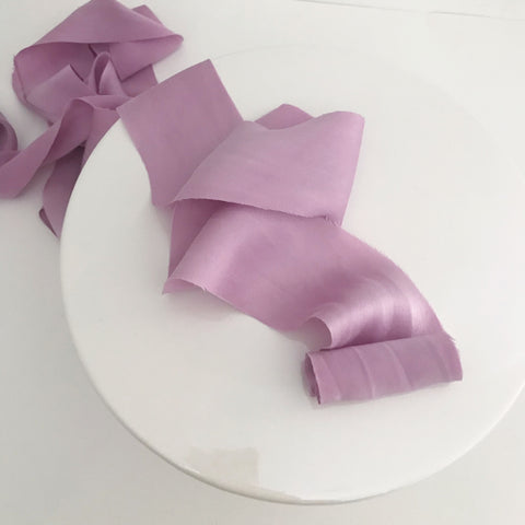 Orchid - Dual Texture Luxury Ribbon