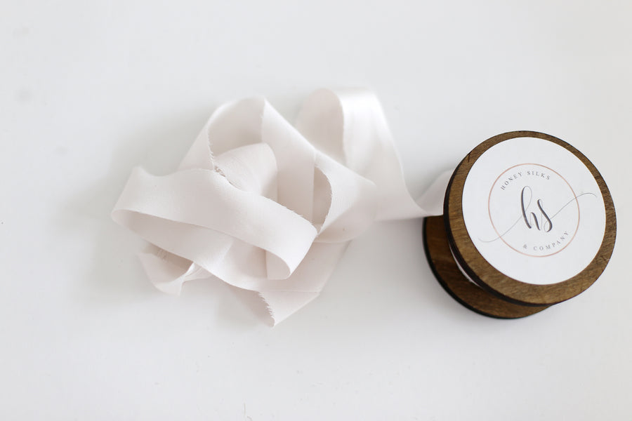 Ten yard ribbon bundle - Pale Stone