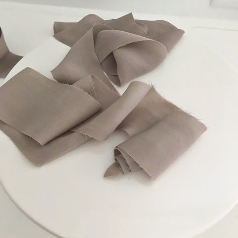 Mocha - Chiffon Luxury Ribbon