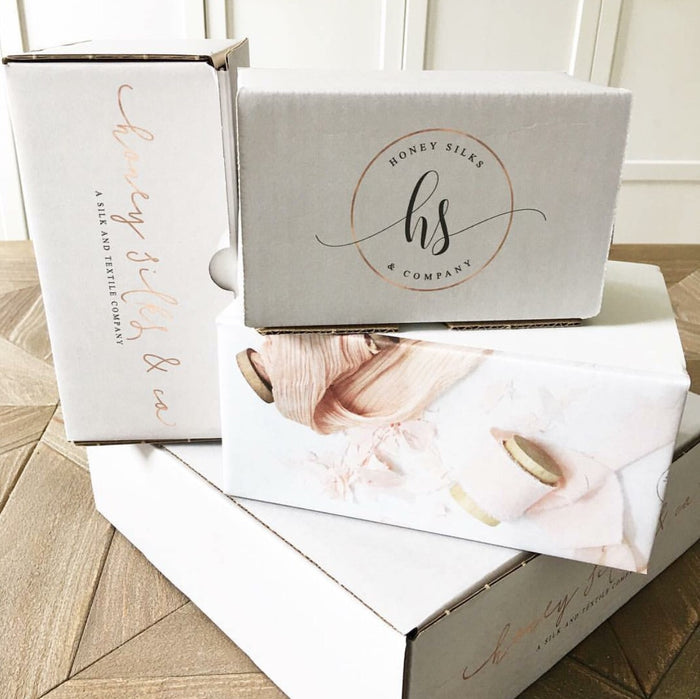 Honey Silks Makers Box - A monthly subscription of hand dyed silk -