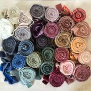 Collection of 26 Silk Velvets