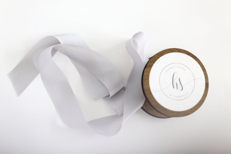 Ten yard ribbon bundle - True Gray