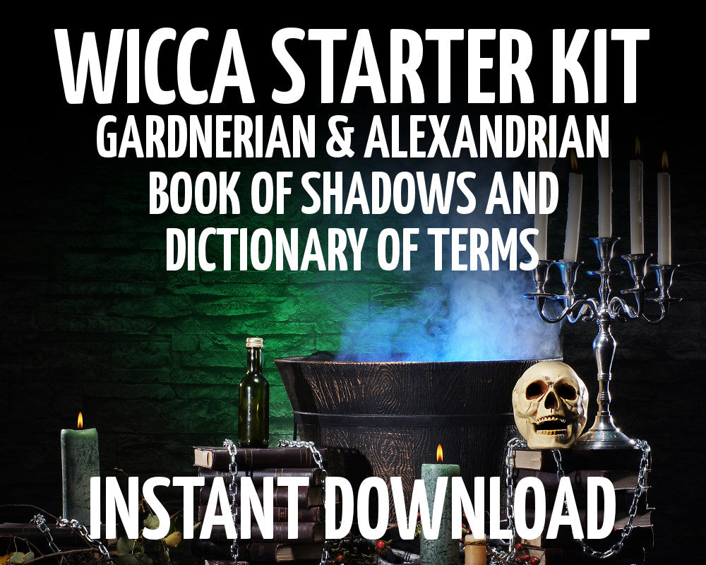 Load image into Gallery viewer, Wicca Starter Kit