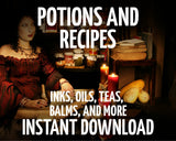 Potions and Recipes