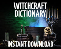 Witchcraft: Terms and their Meanings