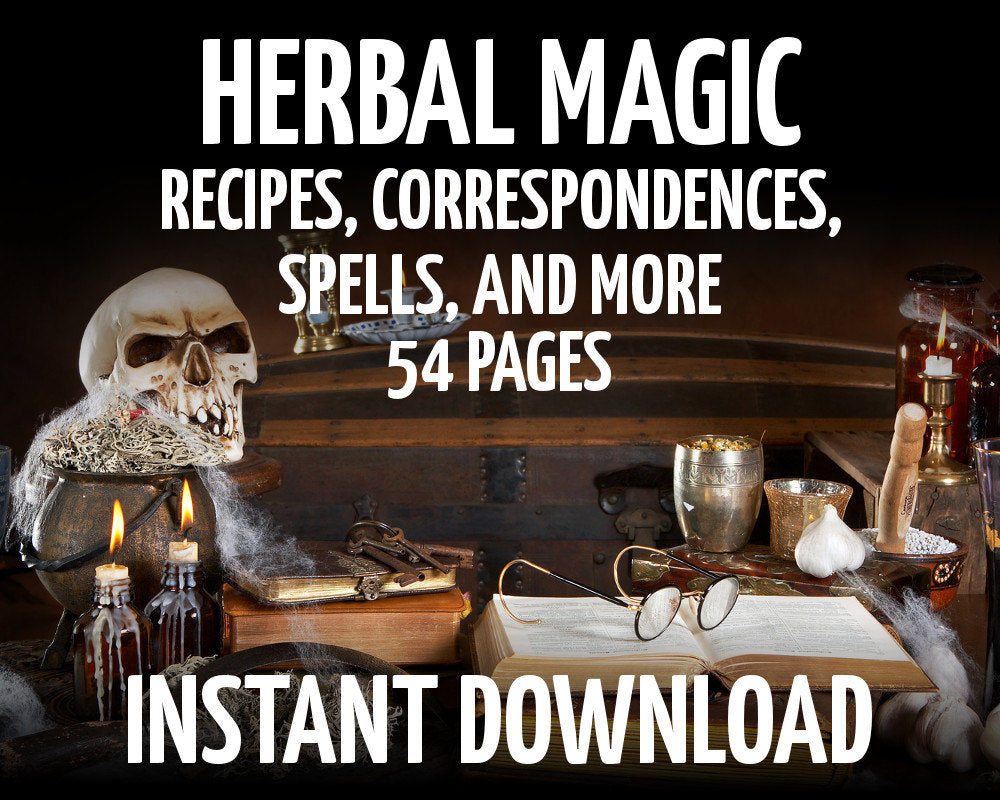 Load image into Gallery viewer, Herbal Correspondences & Recipes