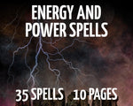 Energy and Power Spells