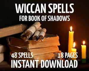 Load image into Gallery viewer, Wiccan Spells
