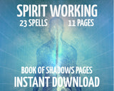Spirit Working Spells Spells