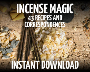 Load image into Gallery viewer, Incense Correspondences & Recipes