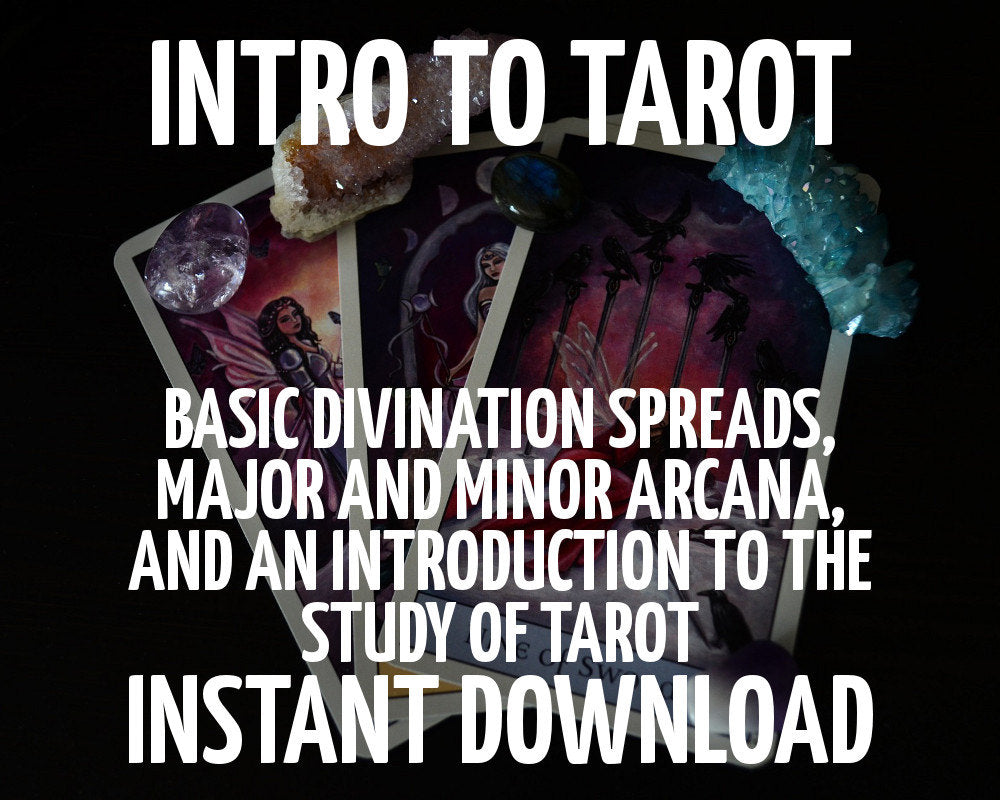 Load image into Gallery viewer, Intro to Tarot