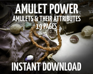 Load image into Gallery viewer, Amulet Powers & Attributes