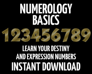Load image into Gallery viewer, Numerology for Beginners