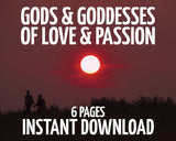 Gods and Goddess of Love and Passion