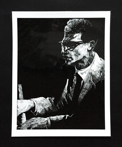Art Print featuring 'Brubeck' by James Vani