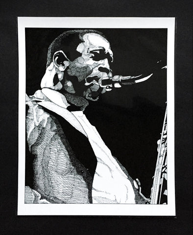 Art Print featuring 'Coltrane' by James Vani