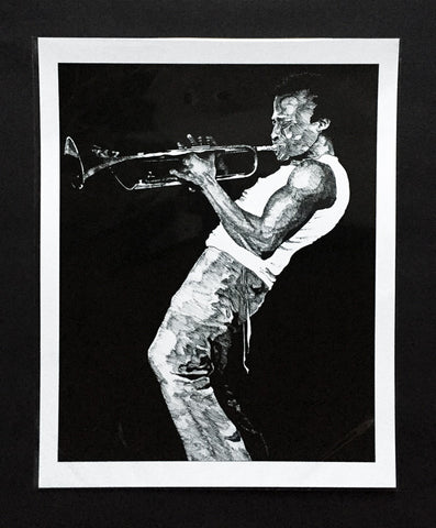 "Art Print featuring James Vani's ""Miles Davis"""
