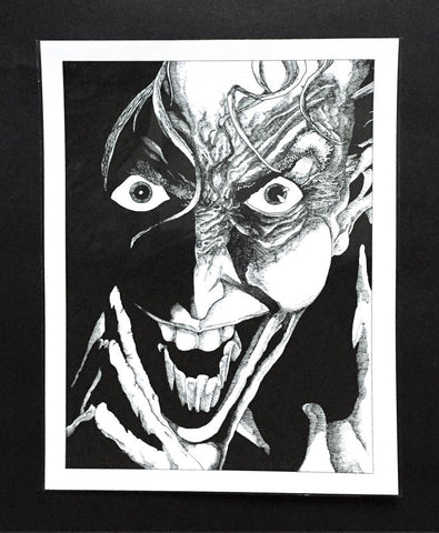 Art Print featuring 'The Joker' by James Vani