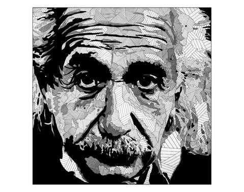 Art Print featuring Lyneth Morgan's 'Einstein'