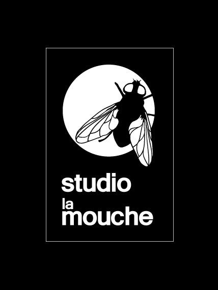 Studio La Mouche Logo Sticker