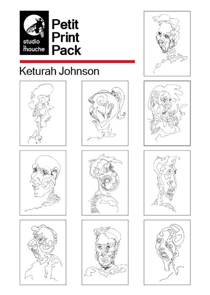 Mini Print Pack featuring Artwork by Keturah Johnson