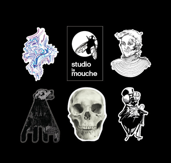 6-Piece Sticker Pack Beta